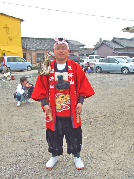 浅井山のヒーロー
