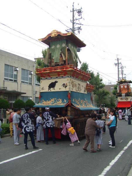 今年もやってまいりました 名古屋市東区天王祭