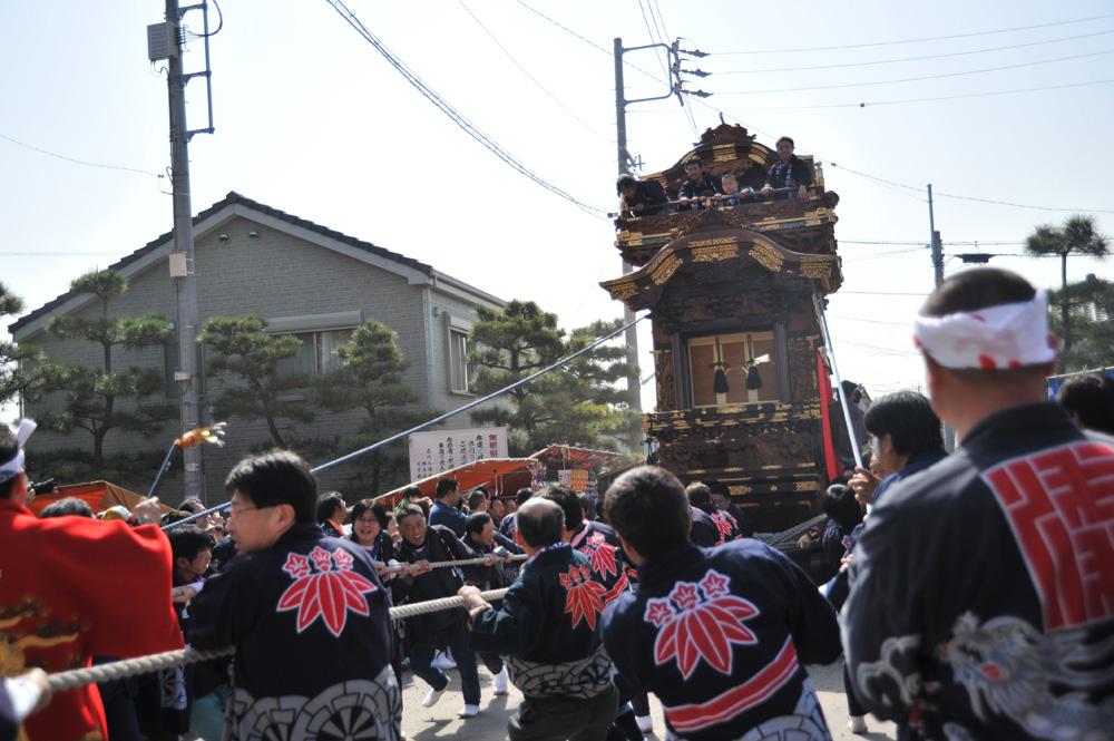 AM10:06 殿海道山の坂上げ開始!