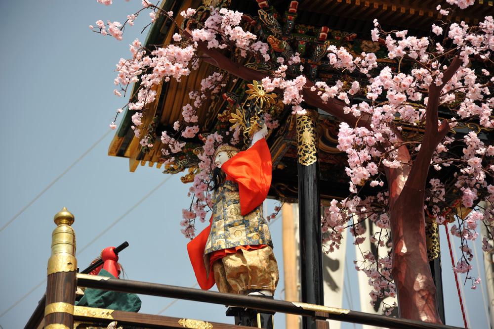 南山からくり「役小角大峯桜」07