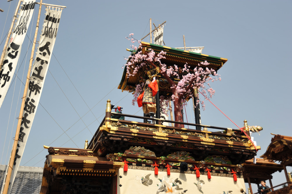 南山からくり「役小角大峯桜」09