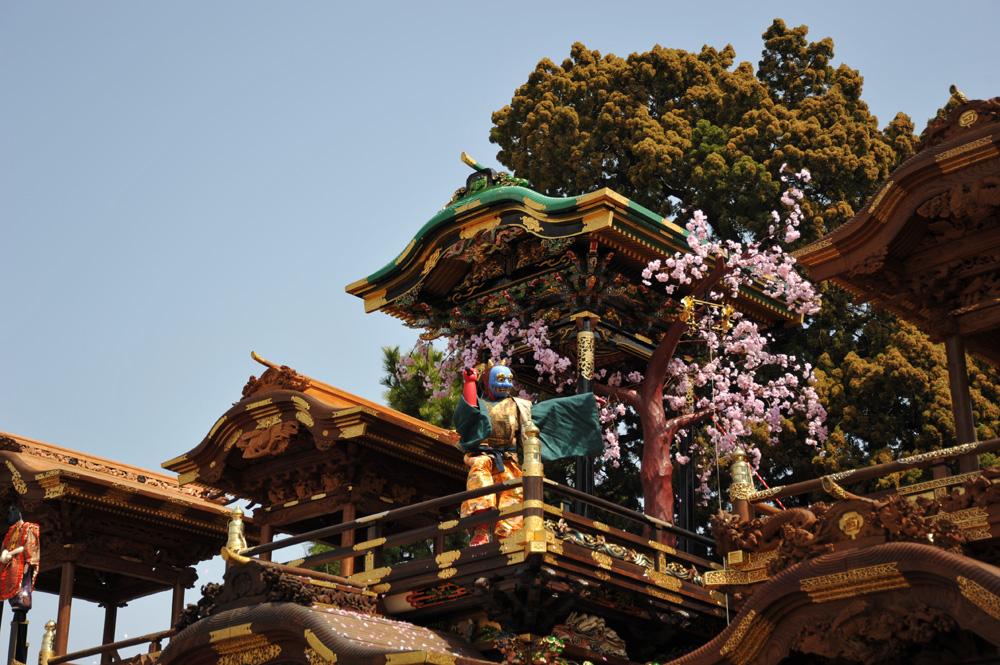 南山からくり「役小角大峯桜」20