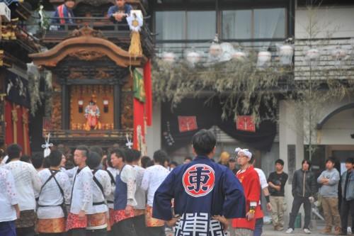 山ノ神社にて